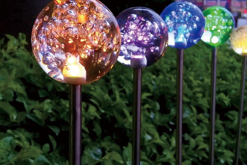 太阳能气泡圆球灯