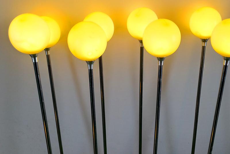 7cm不锈钢圆球灯带铝件 黄色