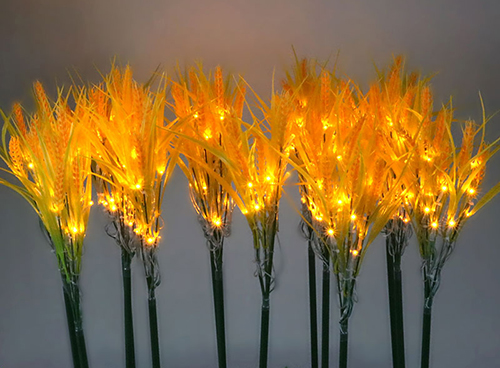led麦穗水稻插地灯