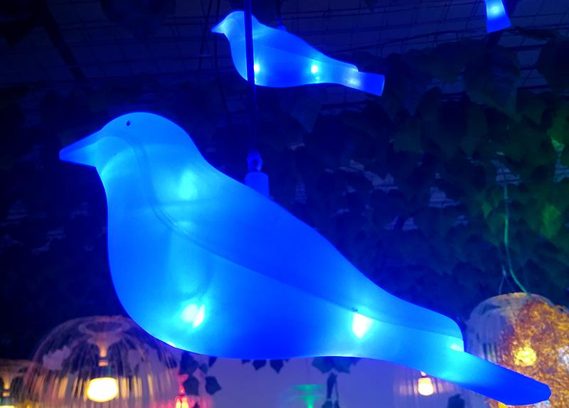 led小鸟挂树灯