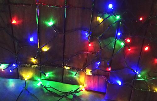 LED太阳能彩色灯串