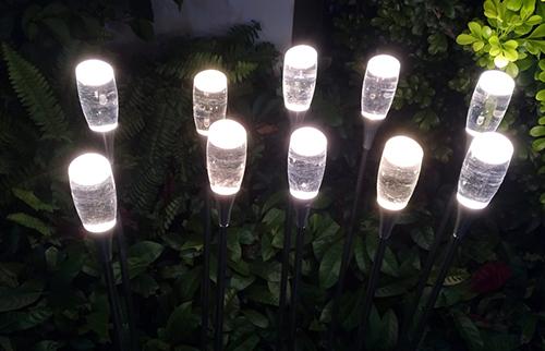 LED亚克力水杯芦苇灯