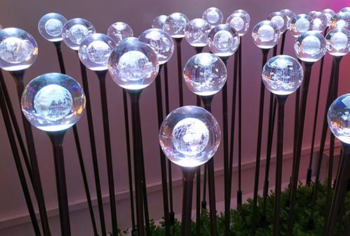 LED亚克力圆球地球灯