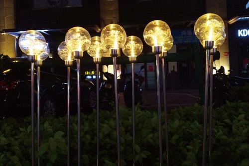 光纤圆球灯