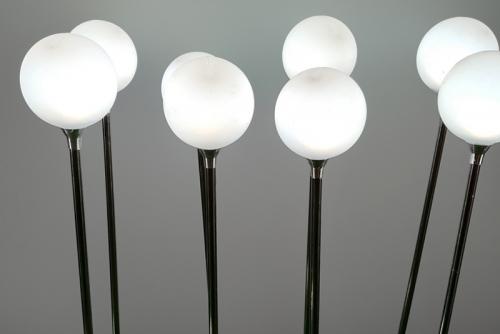 7cm不锈钢圆球灯带铝件 白色