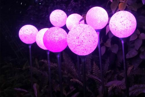 滴胶圆球灯