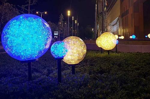 led球中球芦苇地插灯