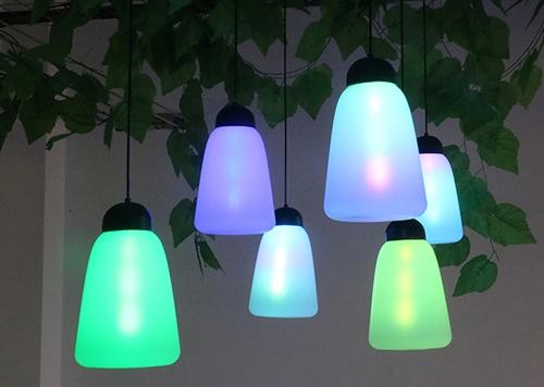 led网红呼吸森林灯