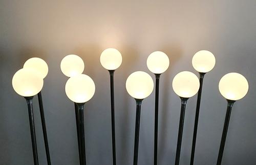 LED暖色亚克力磨砂圆球灯