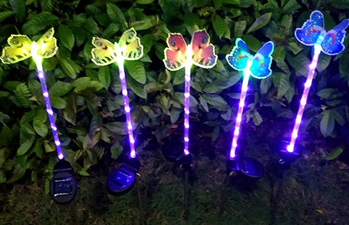 LED太阳能蝴蝶灯1