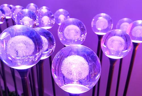 LED亚克力圆球海绵灯