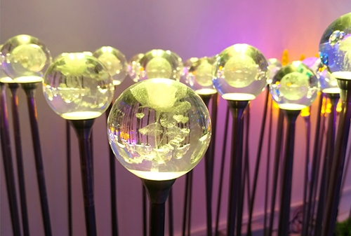 LED亚克力玫瑰圆球灯