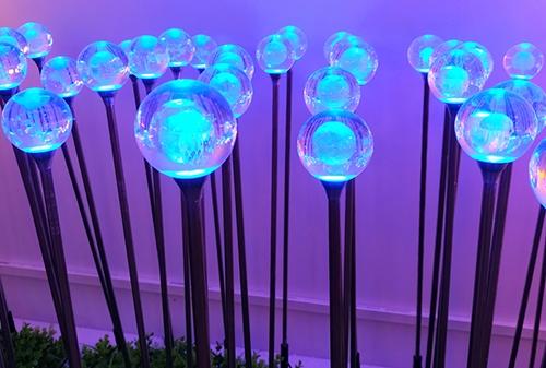 LED亚克力圆球圆心灯