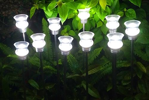 LED透明棒芦苇灯