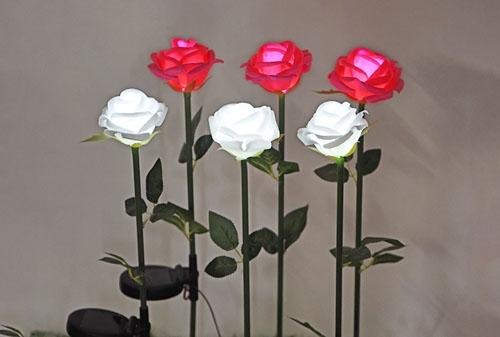 广东太阳能硅胶玫瑰